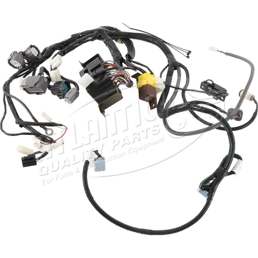 Complete Tractor New 2900-1501 Wire Harness Compatible
