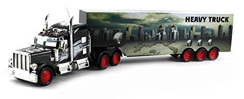 Heavy City 12 Semi Electric RC Truck Full Cargo Trailer 1