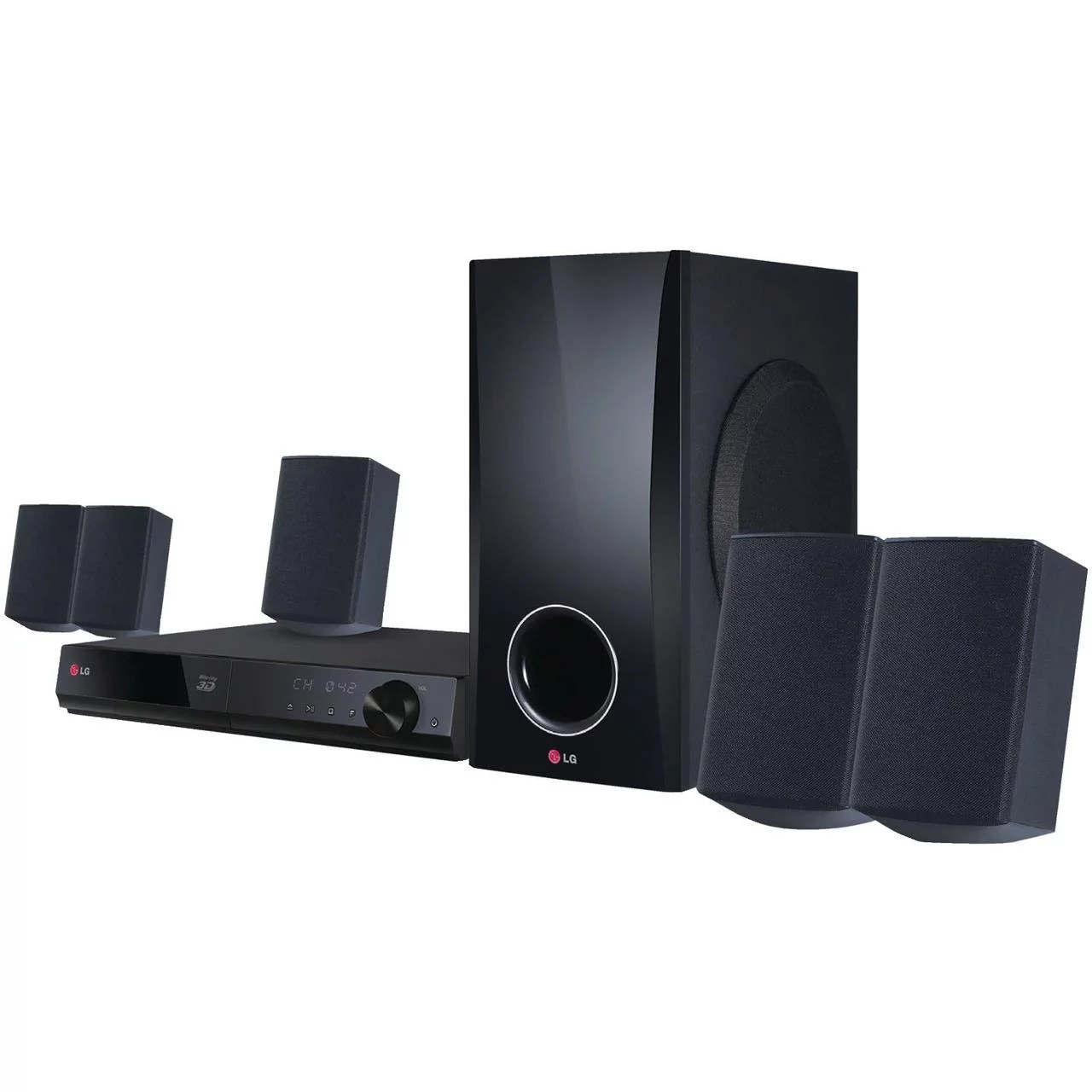 hight resolution of lg 5 1 channel 500w smart 3d blu ray home theater system bh5140s walmart com