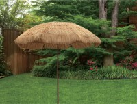 Mainstays 8' Thatch Patio Tiki Umbrella - Walmart.com