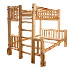 Furniture Barn Usa Rustic Red Cedar Log Bunk Bed Walmart Com Walmart Com