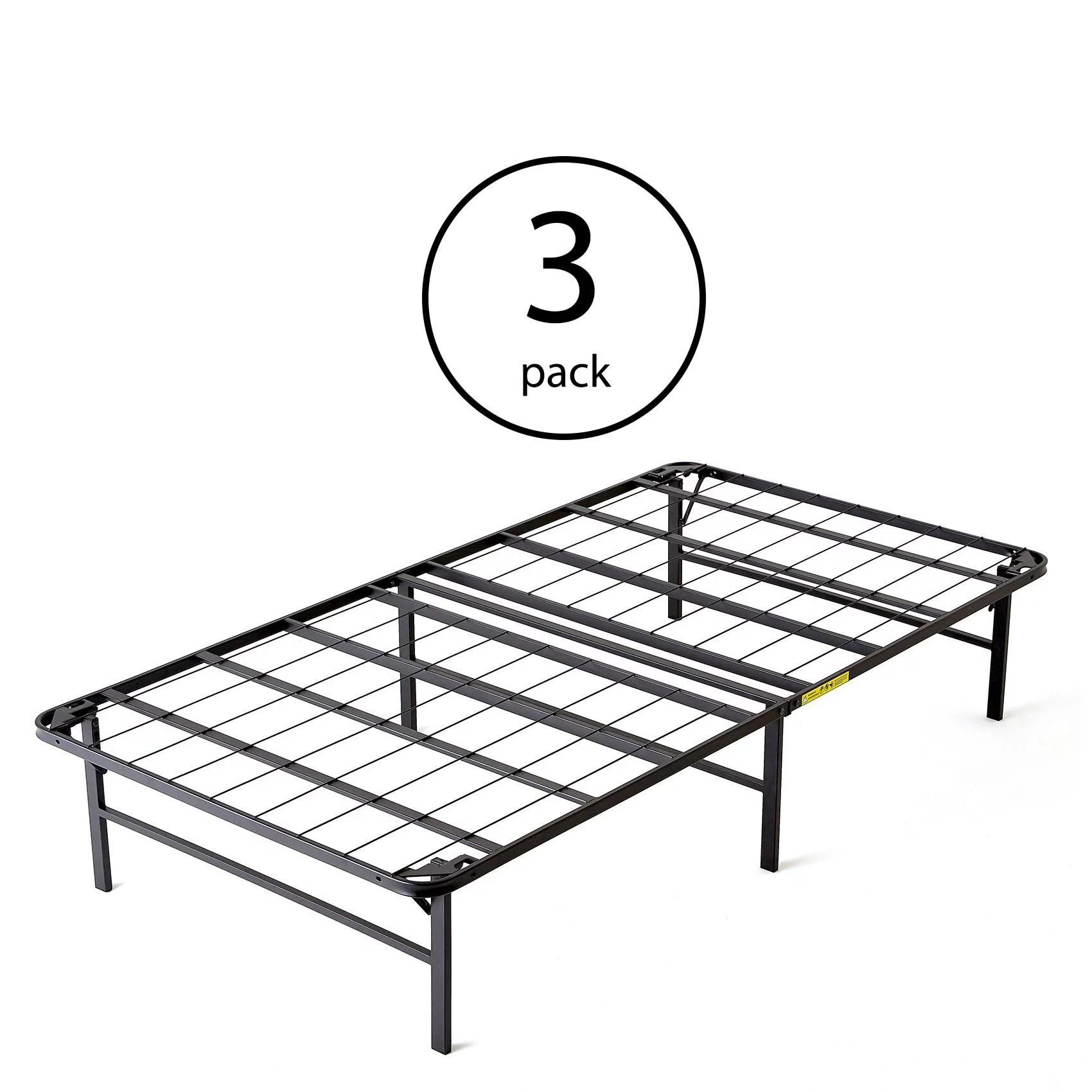 intelliBASE Lightweight Easy Set Up Bi-Fold Platform Bed