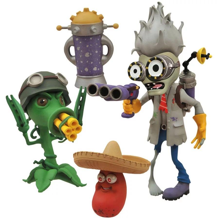 Diamond Select Toys Plants Vs Zombies Select Scientist