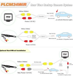 pyle wiring diagram wiring diagrams rear view camera system wireless boss rear view camera wiring diagram [ 1000 x 1000 Pixel ]