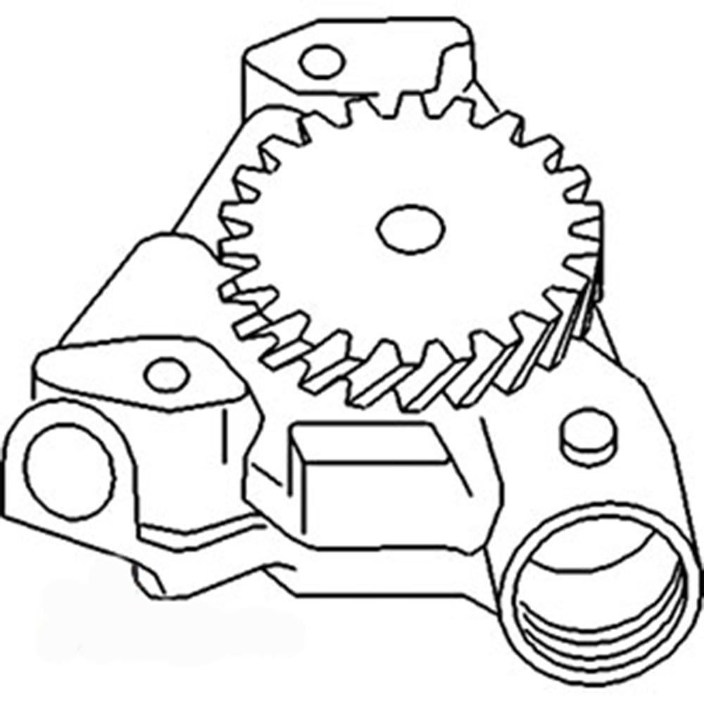 4230653 Deutz Engine Oil Pump D5506 D6006 D6206 DX110 DX80