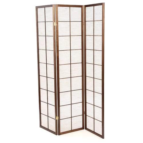 Wildon Home Shoji 3 Panel Room Divider  Walmartcom
