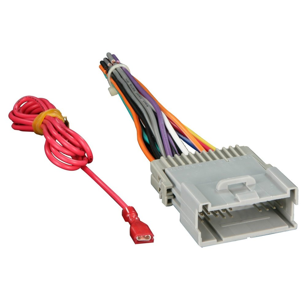 medium resolution of universal car stereo wiring harnes