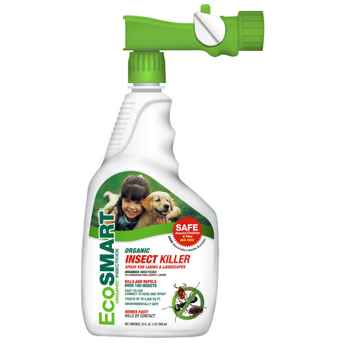 EcoSMART Organic Insect Killer for Lawns and Landscapes, 32-Ounce (Hose End)