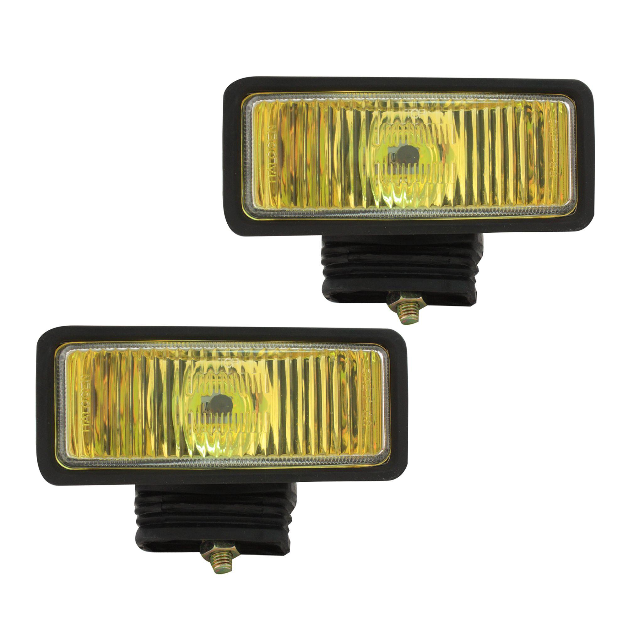 hight resolution of pilot automotive nv 104 2 x 6 h3 55 watt amber fog lights size 6 1 8 l x 2 1 4 x 2 1 8 walmart com