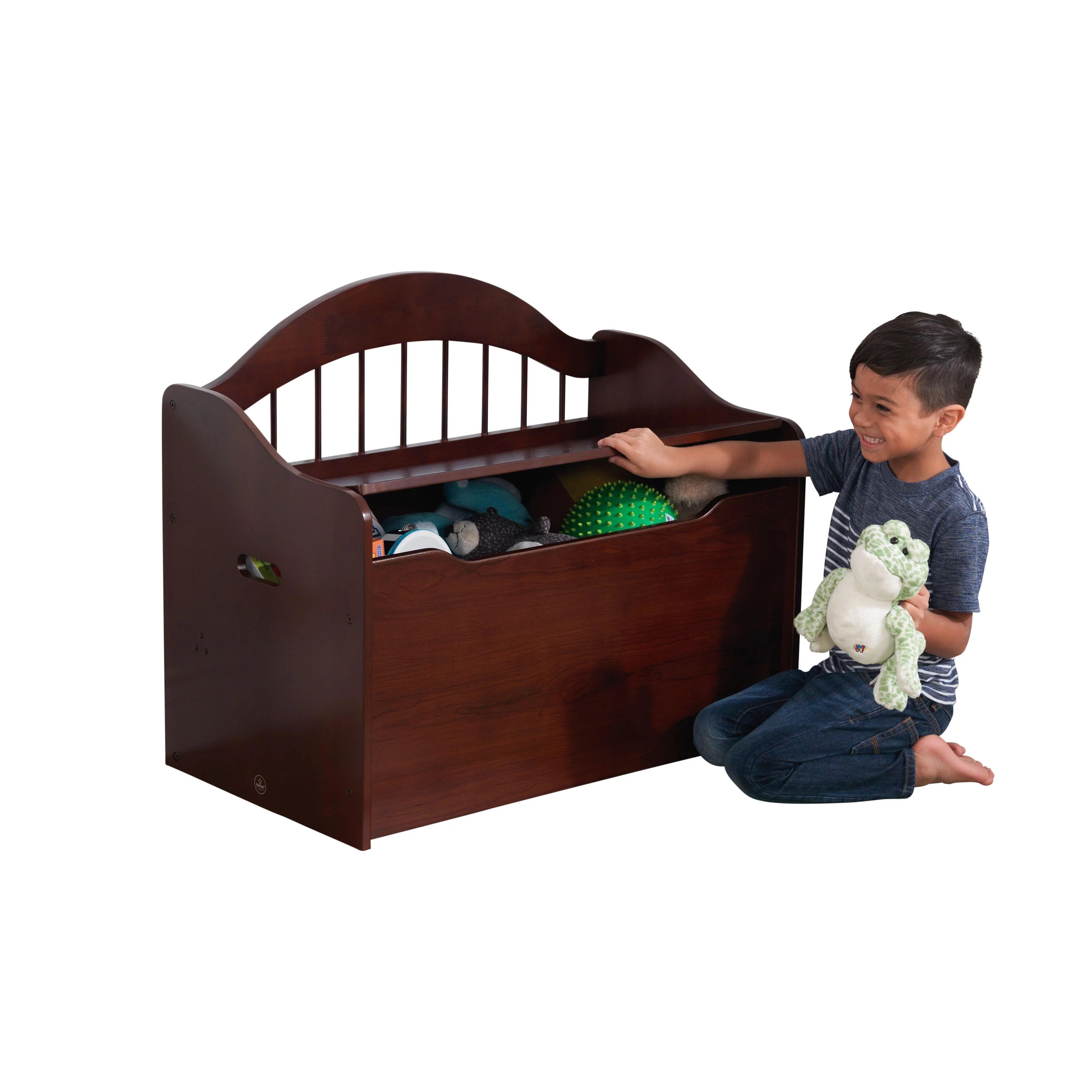 Kidkraft Limited Edition Toy Box Espresso Walmart