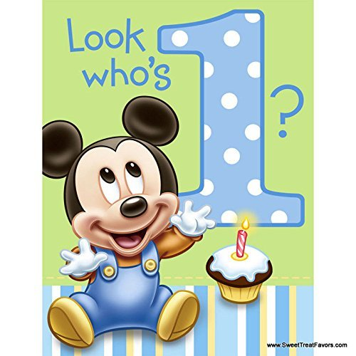mickey mouse baby 1st