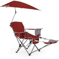 Outdoor Canopy Chair Adirondack Chairs Ace Hardware Sport Brella Recliner Firebrick Red Walmart Com
