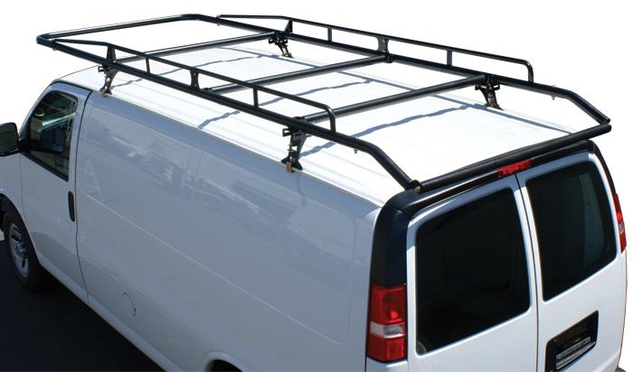 kargomaster 40870 roof rack pro ii series multi fit rain gutter mount powder coated black steel