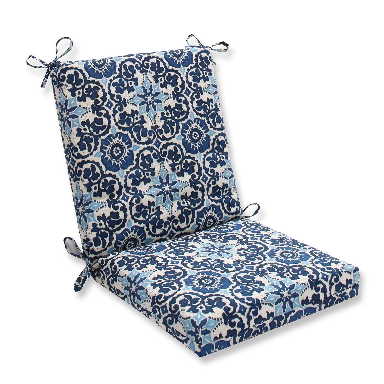 18 x 36 5 brown and blue outdoor patio chair cushions walmart com