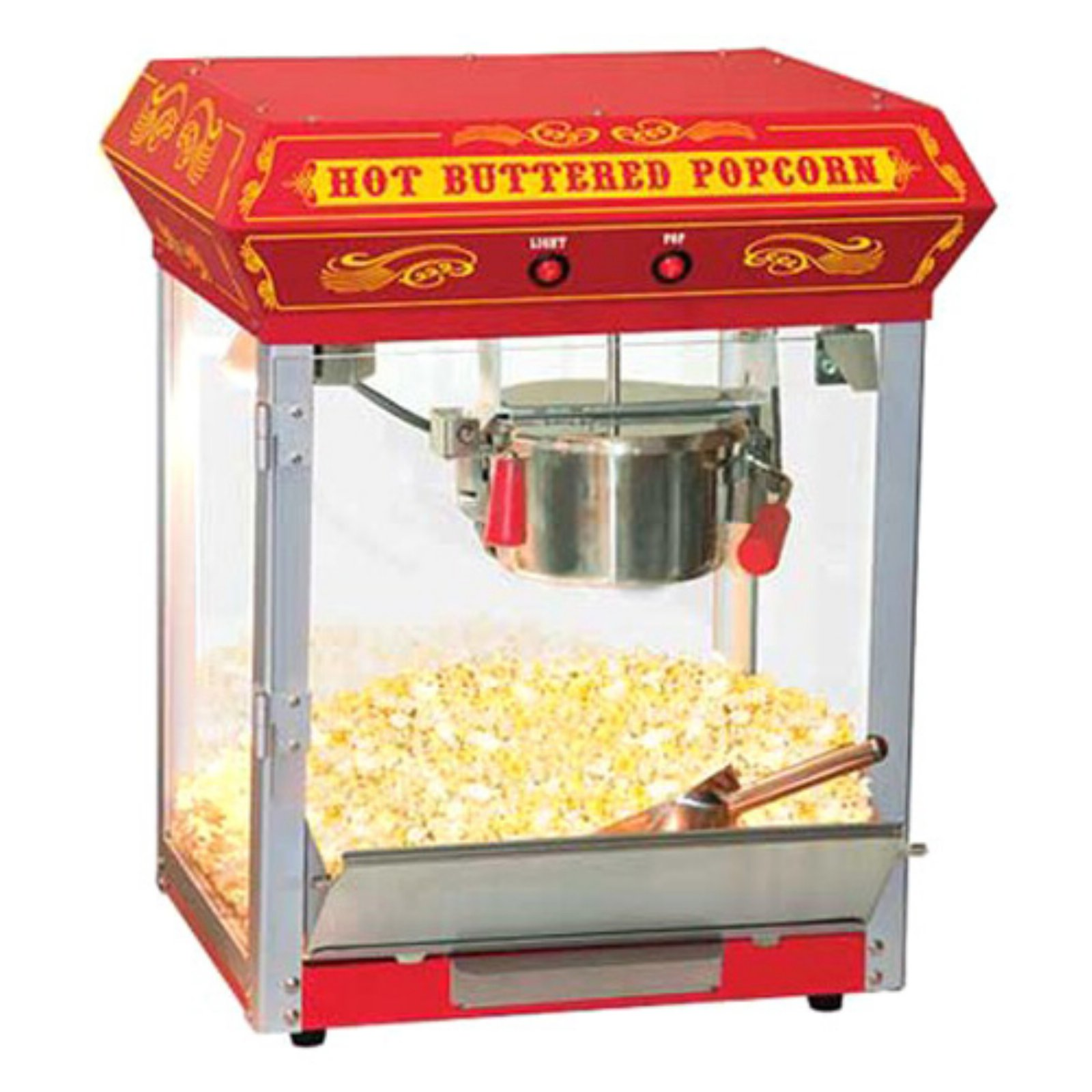 hight resolution of funtime 4 oz theater style hot oil popcorn maker machine black walmart com