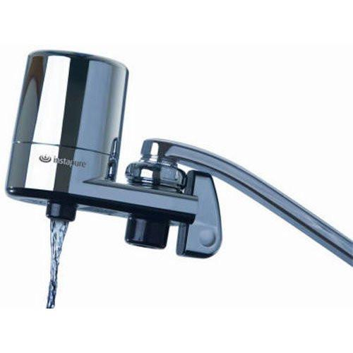instapure f5bcc3p 1es faucet mount water filter system chrome