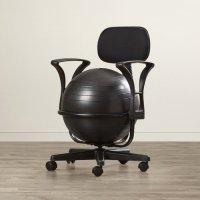 Symple Stuff Exercise Ball Chair - Walmart.com