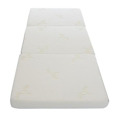 Milliard Cot 75 X 31 4 Inch Foam Trifold Mattress