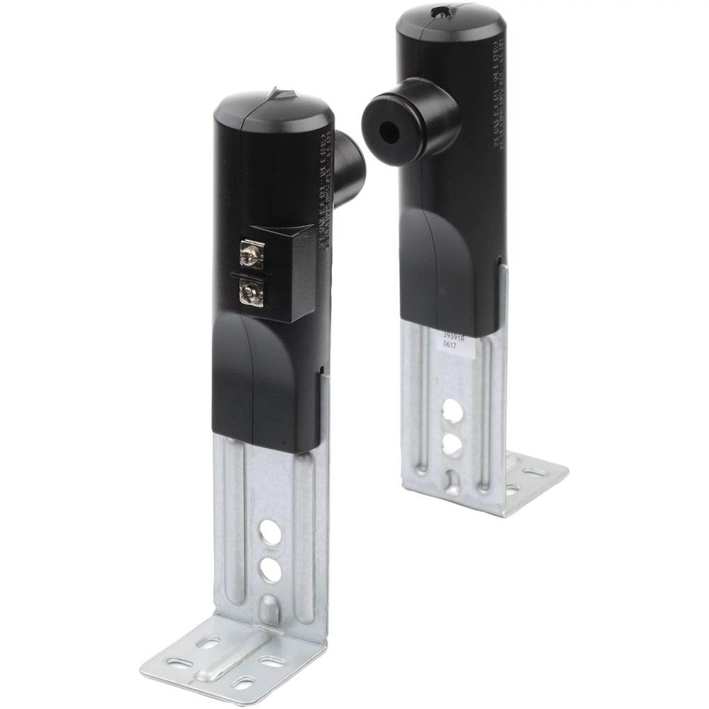 medium resolution of genie 37334r garage door opener replacement safe t beam sensors kit walmart com