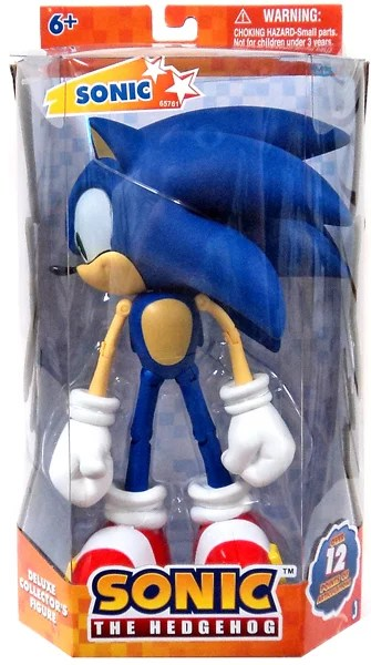 Sonic The Hedgehog Super Posers Sonic Action Figure
