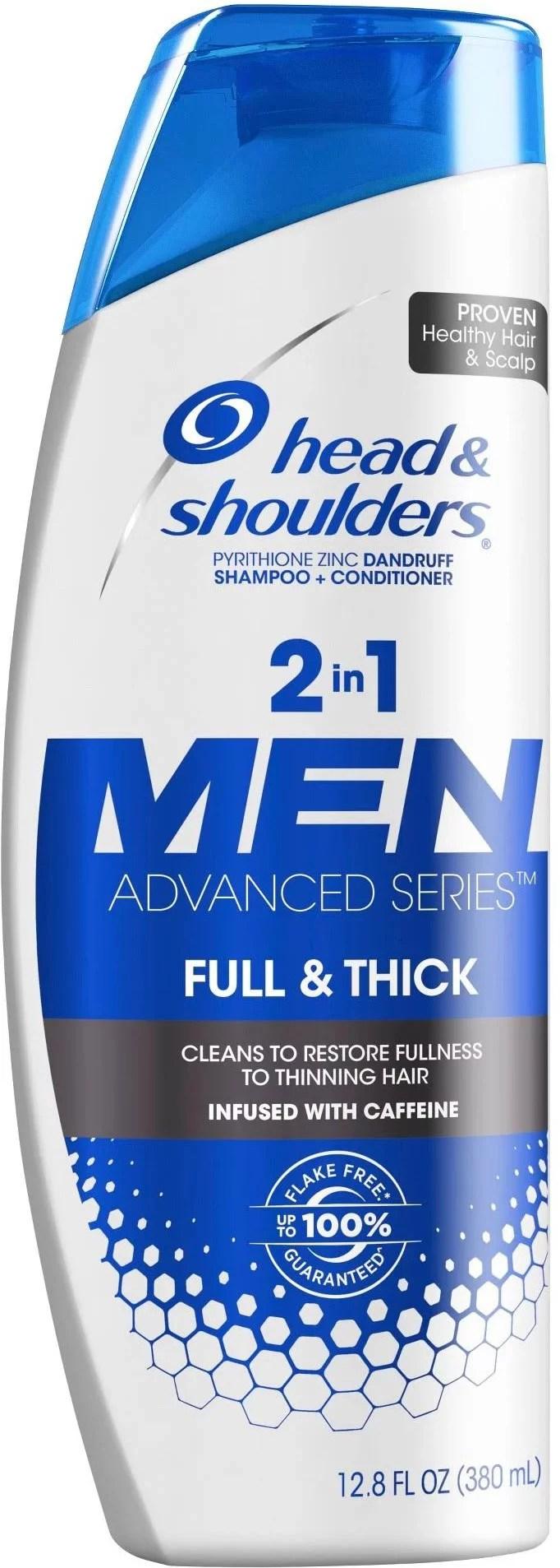 4 Pack Head Shoulders Full Thick 2in1 Dandruff