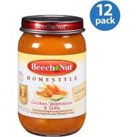 Beech Nut Stage 3 Chicken Vegetables & S - Walmart.com