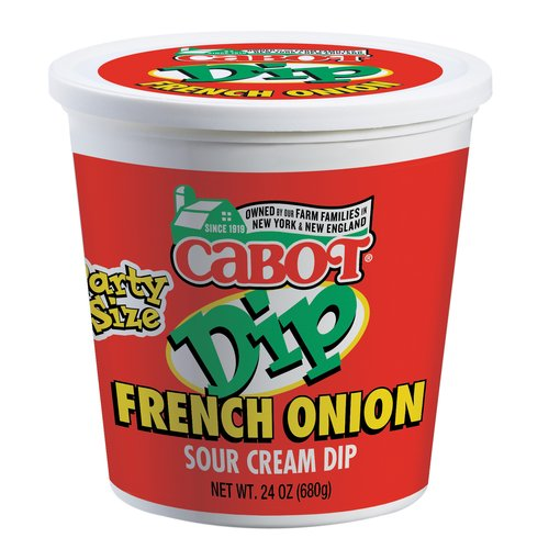 Cabot Party Size French Onion Sour Cream Dip 24 Oz