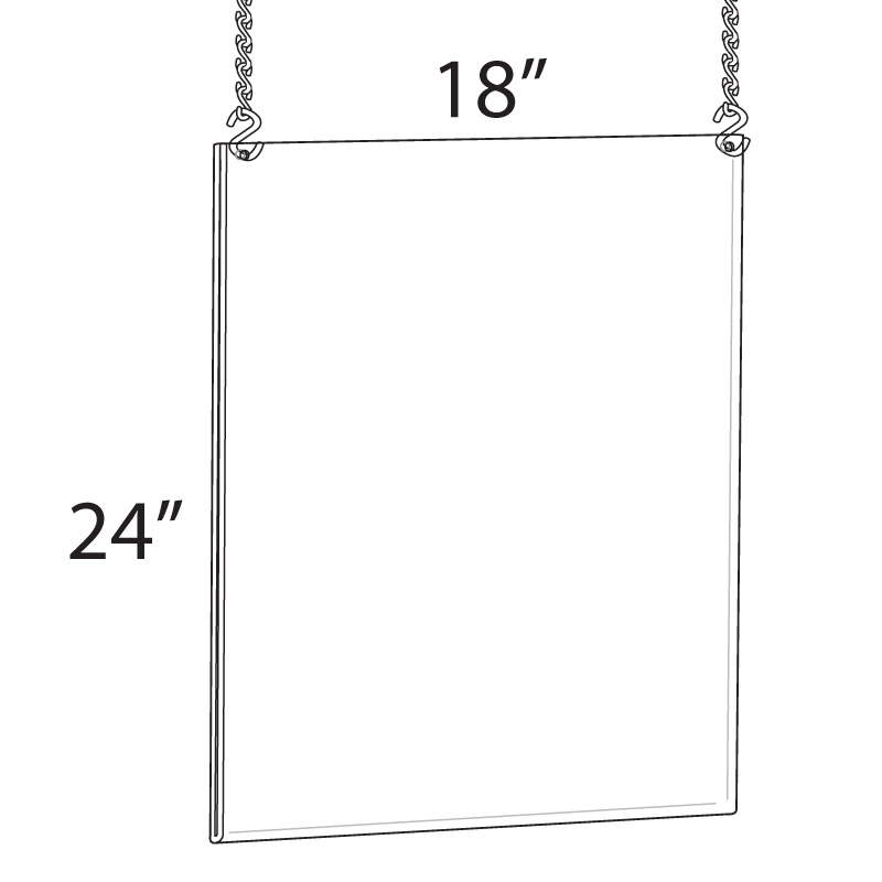 hanging poster frame 18 w x 24 h
