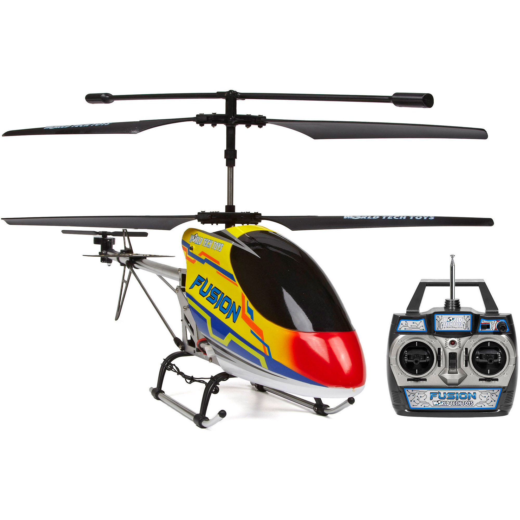 World Tech Toys Gyro Fusion 3 5ch Outdoor Rc Helicopter