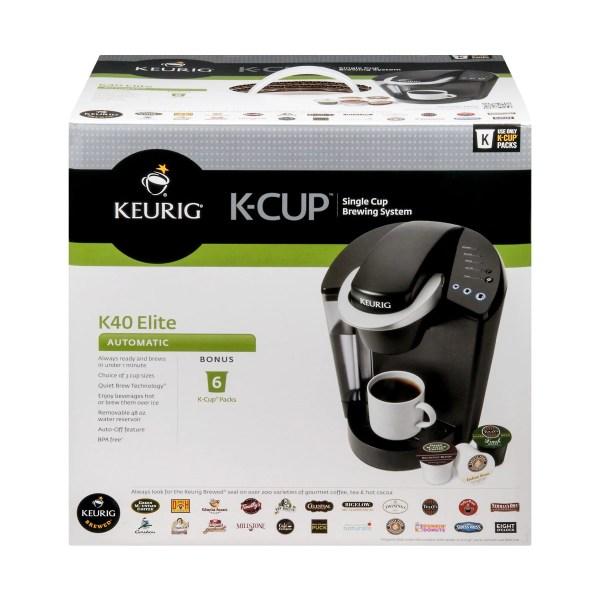 Keurig Elite K40 with 25 Gift Card Single Serve