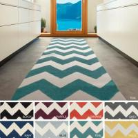Surya Carpet, Inc. Hand-Tufted Luci Chevron Wool Rug (2'3 ...