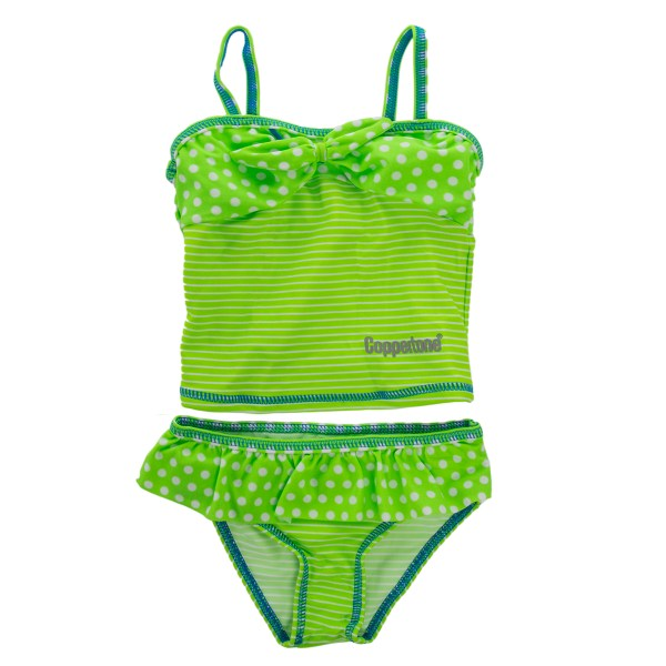 Coppertone Infant Toddler Girl Tankini Uv Sun Protection