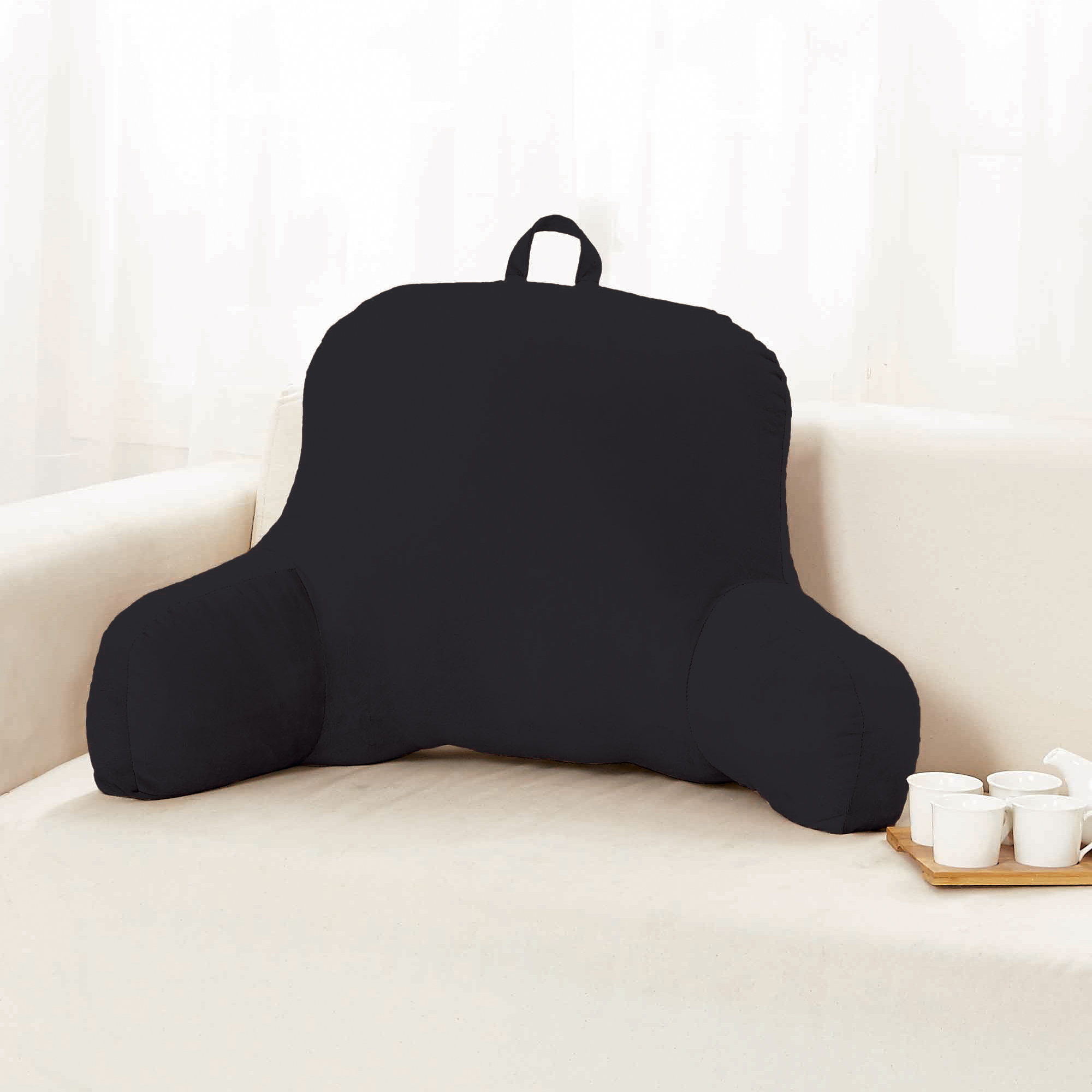 bed rest pillow with arms