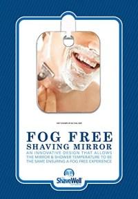 Shave Well Fogless Shower Mirror - Walmart.com