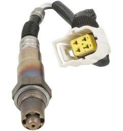 bosch sensors 15124 oxygen sensor oe replacement 13 5 inch length wiring harness female spade connector single sensor [ 1400 x 1400 Pixel ]