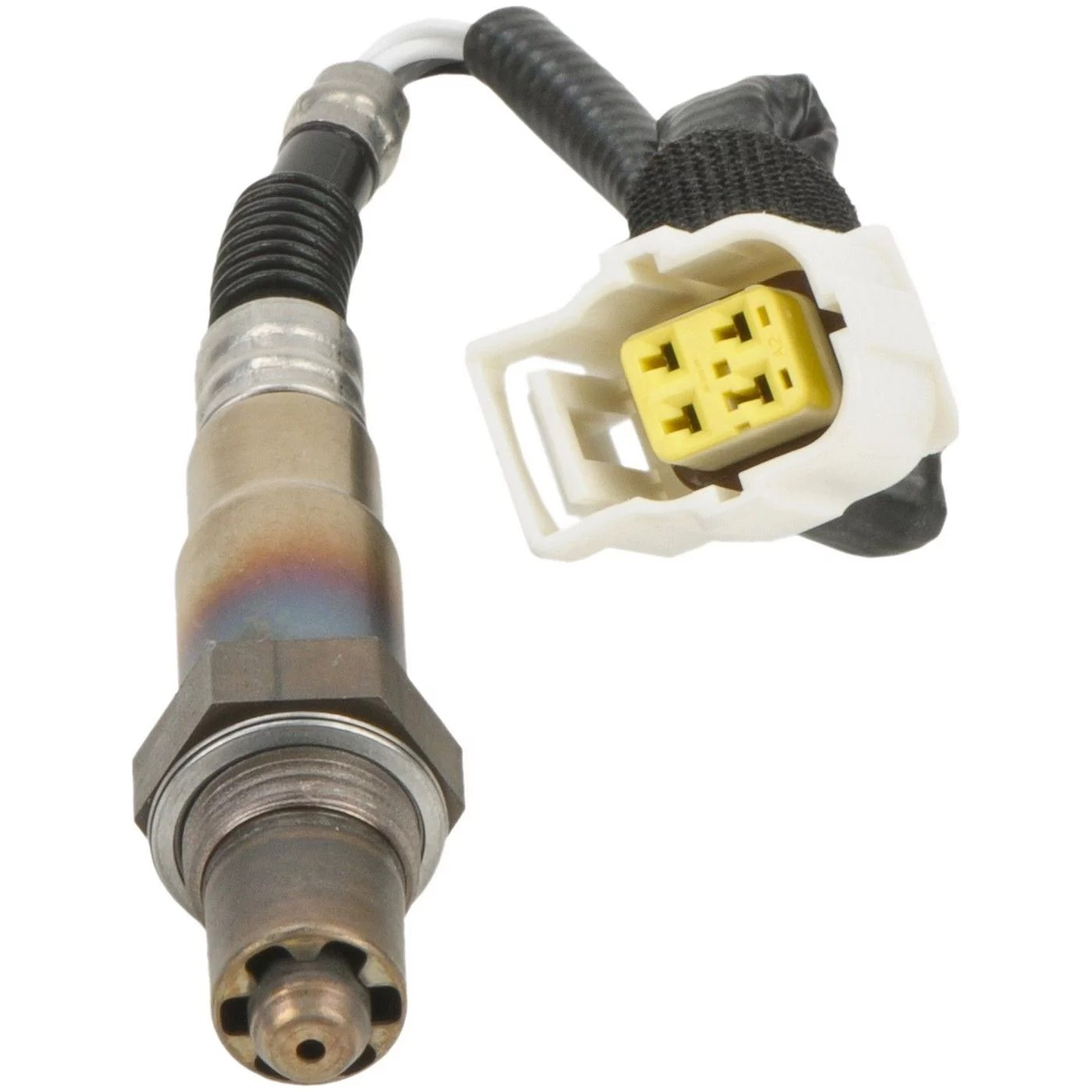 hight resolution of bosch sensors 15124 oxygen sensor oe replacement 13 5 inch length wiring harness female spade connector single sensor