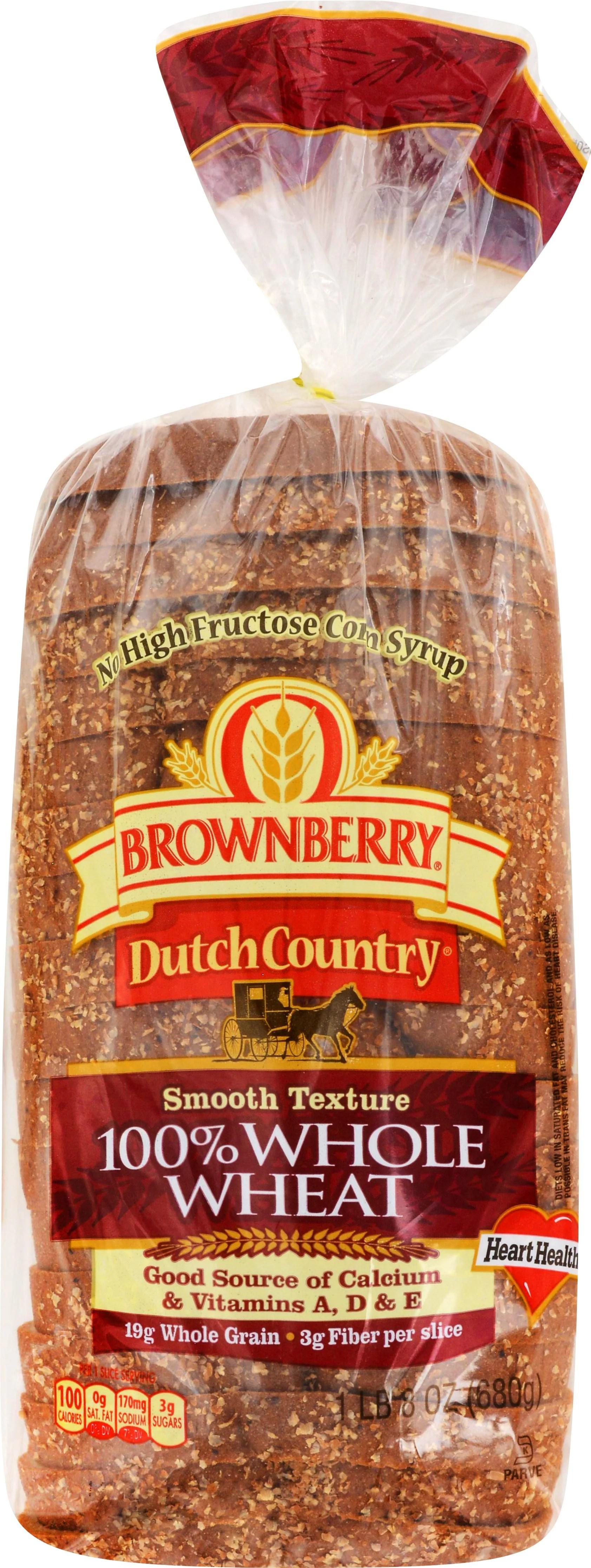 Arnold Dutch Country 100 Whole Wheat Bread 24 oz