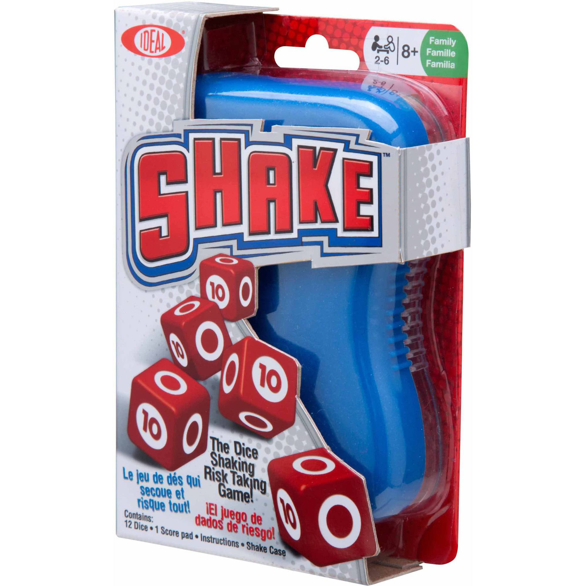 Ideal Shake Dice Game Walmartcom