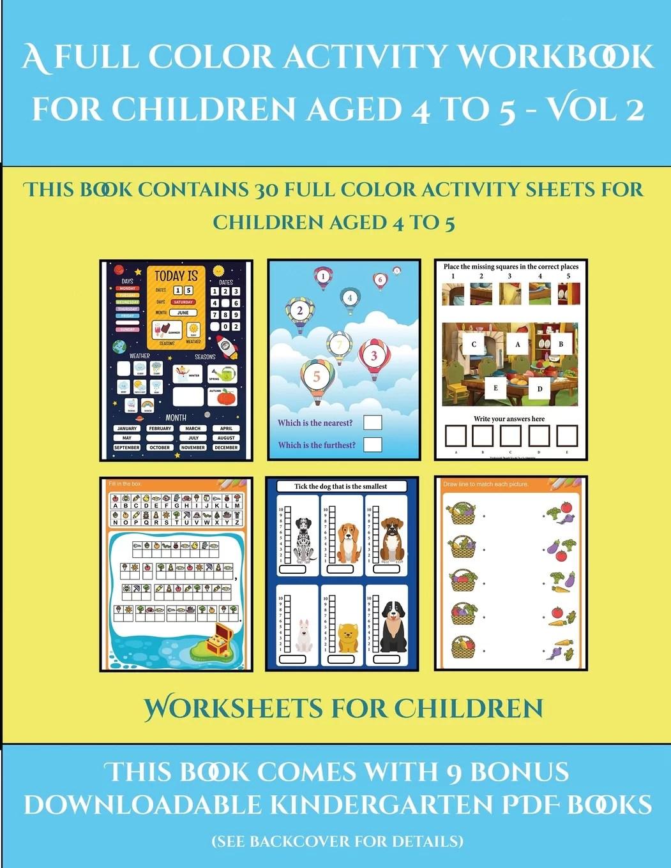 Worksheets For Children Worksheets For Children A Full