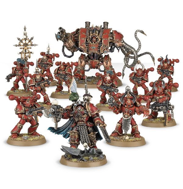 Start Collecting Warhammer 40k Chaos Space Marines 2017