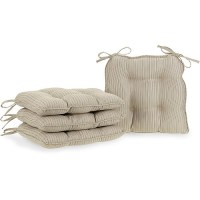 Metro Chair Pads, Set Of 4, Tan - Walmart.com