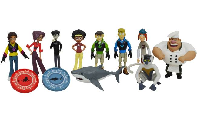 Wicked Cool Toys Wild Kratts 10 Pack Figure Gift Set