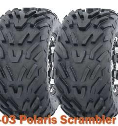 2001 2003 polaris scrambler 50 atv tires 16x8 7 4pr set of 2 walmart com [ 1064 x 873 Pixel ]