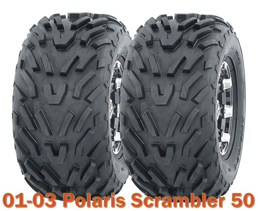 medium resolution of 2001 2003 polaris scrambler 50 atv tires 16x8 7 4pr set of 2 walmart com