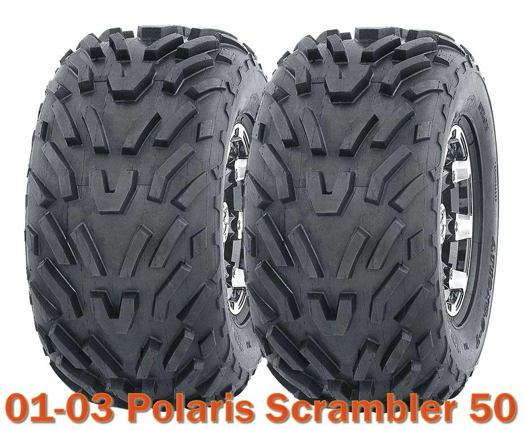 hight resolution of 2001 2003 polaris scrambler 50 atv tires 16x8 7 4pr set of 2 walmart com