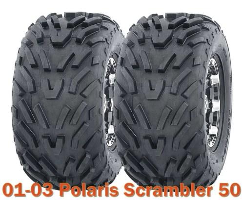 small resolution of 2001 2003 polaris scrambler 50 atv tires 16x8 7 4pr set of 2 walmart com