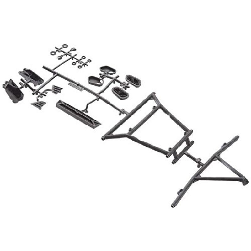 yeti folding chair ghost target axial ax31116 y 380 cage front rear inserts walmart com