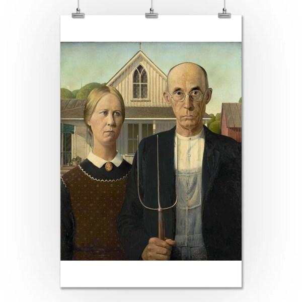 American Gothic - Masterpiece Classic Artist Grant Wood