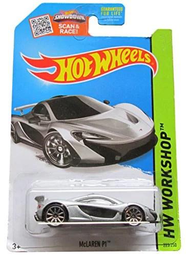 Mclaren P1 Silver : mclaren, silver, Wheels, Workshop, McLaren, 223/250,, Silver, Walmart, Canada