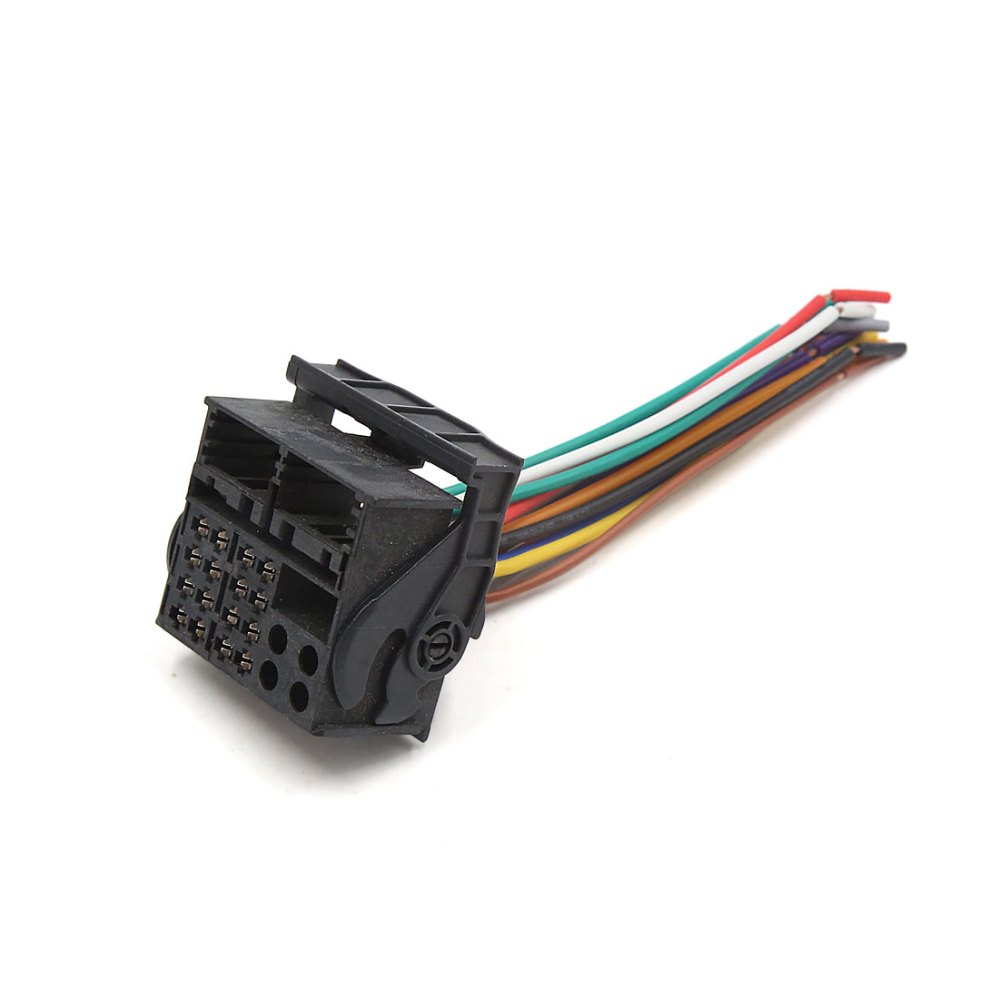 medium resolution of auto car radio stereo cd player wiring harness socket connector for ford focus walmart com